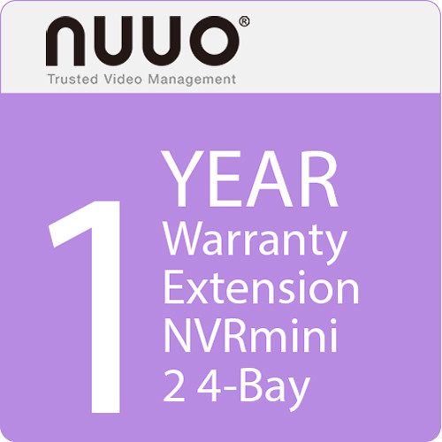 NUUO 1-Year Warranty Extension for NVRmini 2 4-Bay