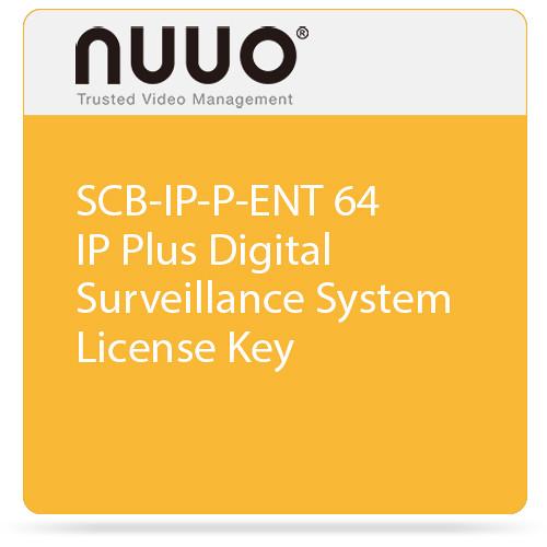 NUUO SCB-IP-P-ENT 64 IP Plus Digital Surveillance System License Key