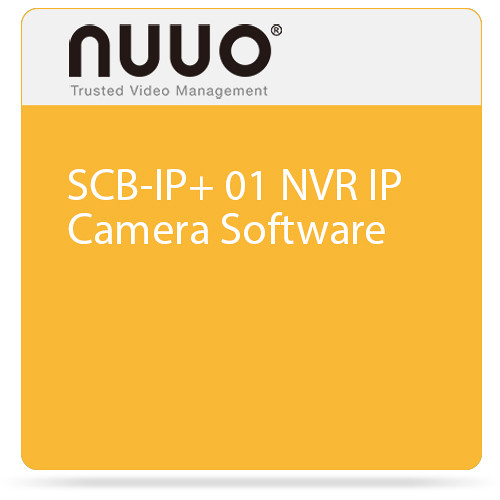 NUUO SCB-IP+ 01 NVR IP Camera Software