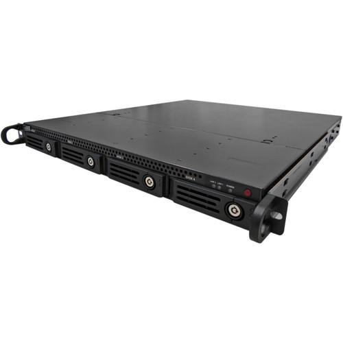 NUUO TP-4160R Titan Pro 16-Channel 1U Rack-Mountable H.264 250 Mb/s 4-Bay NVR (8TB)