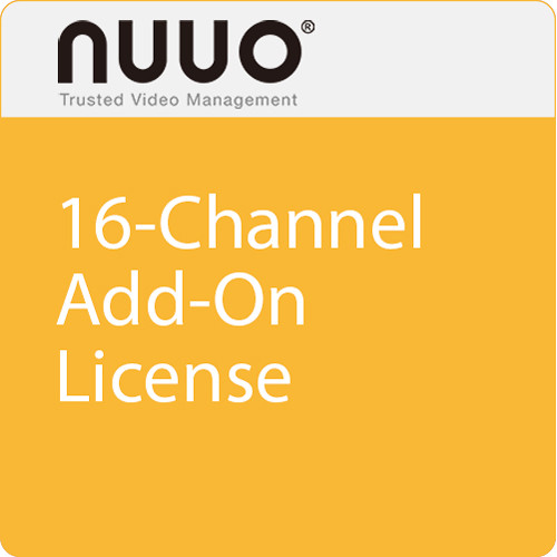 NUUO TP-CAM-PRO 16-Channel Add-On License