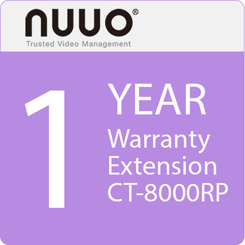 NUUO 1-Year Warranty Extension for CT-8000RP Series