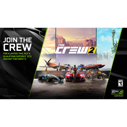 NVIDIA The Crew 2 with GeForce GTX 1080/1080 Ti