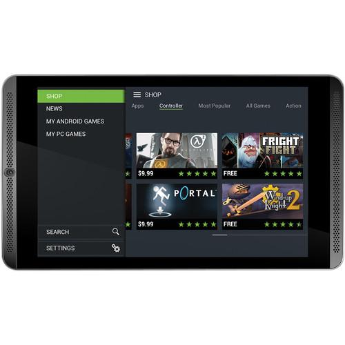 "NVIDIA NVIDIA 32GB SHIELD 8"" Tablet (4G LTE, Unlocked, Black)"