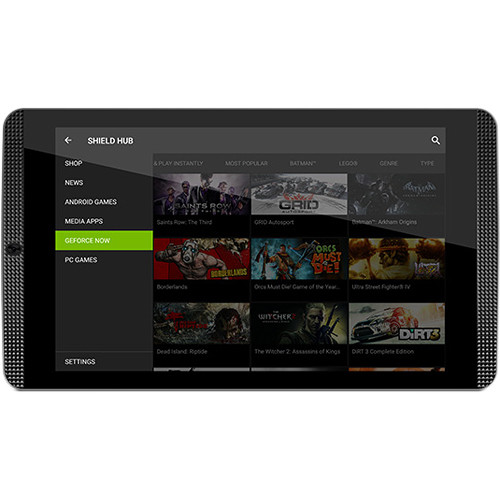 "NVIDIA 8"" SHIELD 16GB Tablet K1 (Wi-Fi Only, Black)"