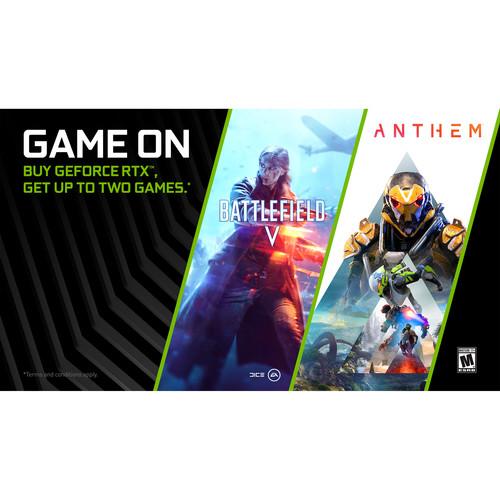 NVIDIA Battlefield V or Anthem Game Bundle