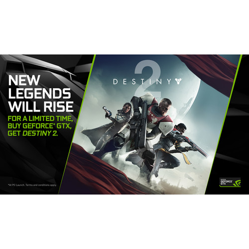 NVIDIA Destiny 2 with GTX 1080 (PC Download)