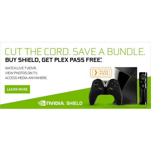NVIDIA 6-Month Plex Pass Subscription, Free with SHIELD Purchase