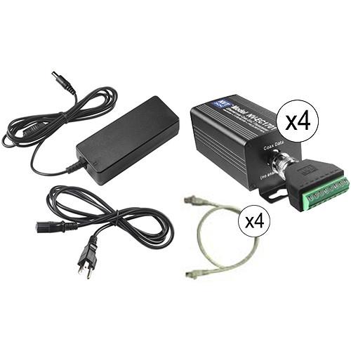 NVT Phybridge NV-EC1701U-K3H Triple 90W Eo2 Transmission System