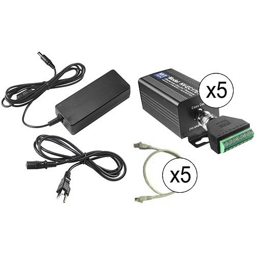 NVT Phybridge NV-EC1701U-K4H Quadruple 90W Eo2 Transmission System