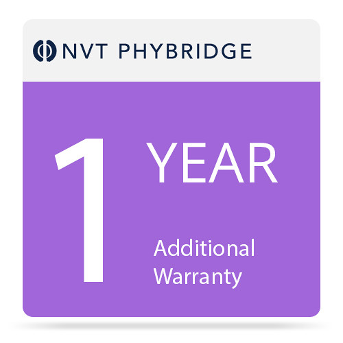 NVT 1-Year Additional Warranty for EC4 Extender Kit