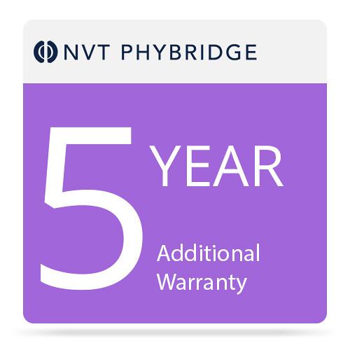 NVT Phybridge 5-Year Additional Warranty for EC4 Extender Kit