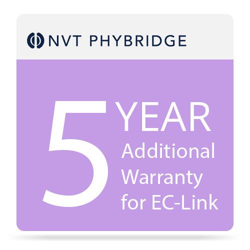 NVT Phybridge 5-Year Additional Warranty for EC-Link
