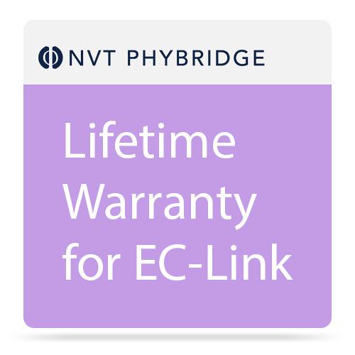 NVT Lifetime Warranty for EC-Link