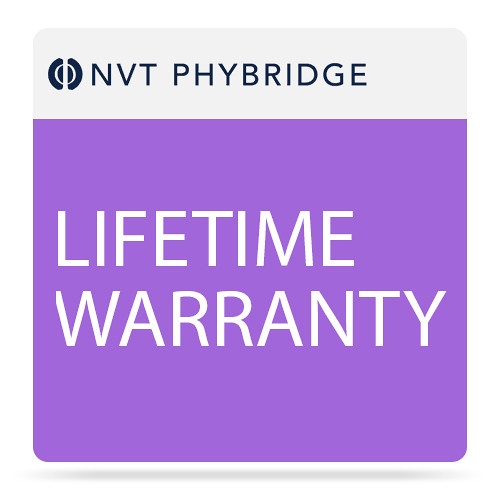 NVT Lifetime Warranty for EC-Link+ Extender Kit