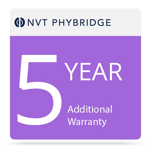 NVT Phybridge Additional 5-Year Warranty for FLEX8