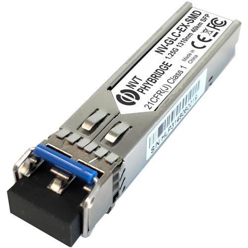 NVT Phybridge GLC-EX-SMD GBIC 1000Base-EX SFP Dual LC Transceiver Module