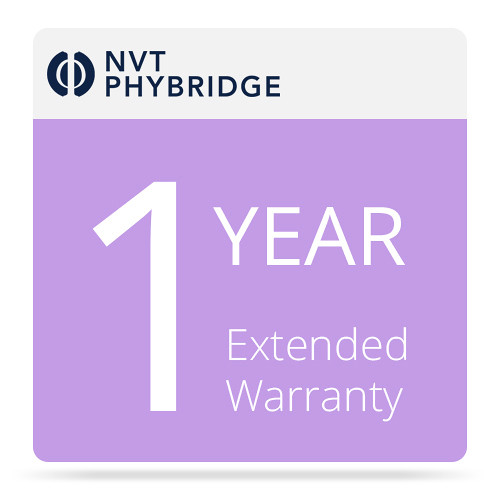 NVT 1-Year Additional Warranty for EC-Link+