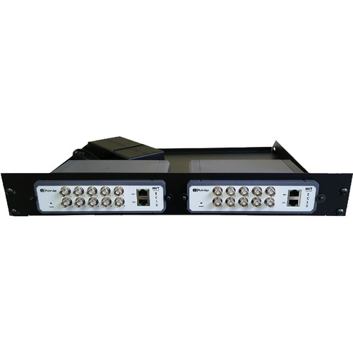 NVT Rack Mount Kit for Two EC10 Unmanaged Switches & Power Supplies