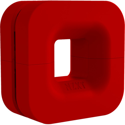 NZXT Puck Cable Management Accessory for Audio/VR Headsets & Mounting Ease (Red)
