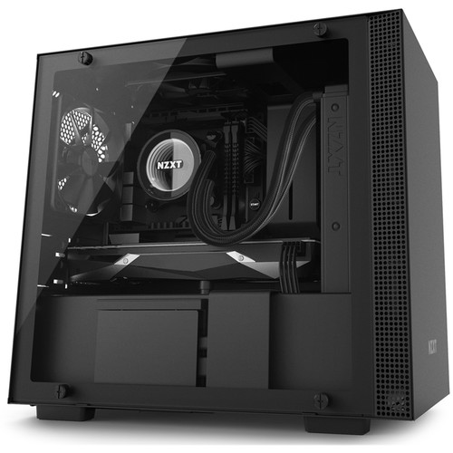 NZXT H200i Mini-Tower Case (Black)