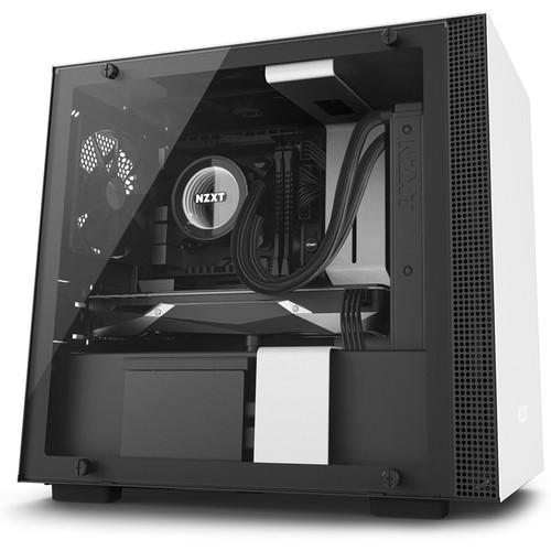 NZXT H200i Mini-Tower Case (White)