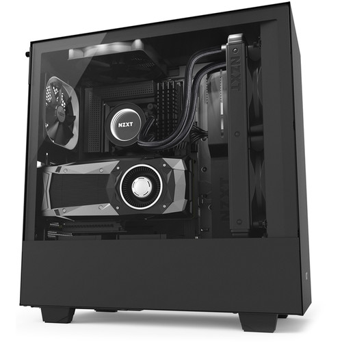 NZXT H500i Mid-Tower Case (Black)