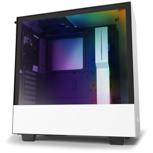 NZXT H510i Mid-Tower Case (Matte White)