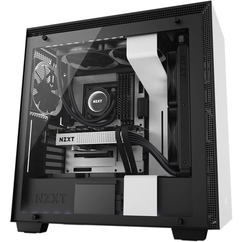 NZXT H700i Mid-Tower Case (White)
