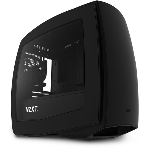 NZXT Manta Mini-ITX Case (Window, Matte Black)