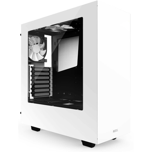 NZXT S340 Mid-Tower Chassis (White)