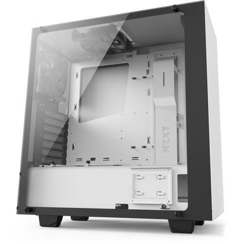 NZXT S340 Elite Mid-Tower Chassis (Matte White)