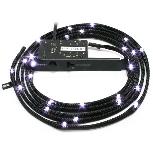 NZXT Sleeved Internal LED Lighting Kit (White, 6.6')