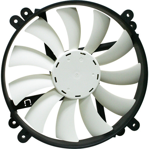 NZXT FN-200RB 200mm 11-Blade Rifle-Bearing Fan (1300 RPM)
