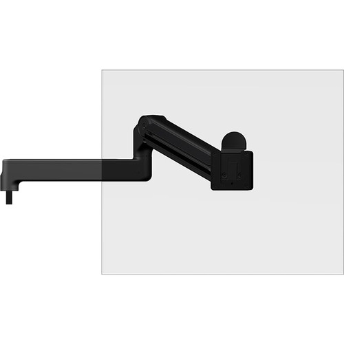 """O.C. White Ultima Heavy Duty Adjustable Monitor Support Arm with Adjustable Section & 12"""" Fixed Horizontal Arm"""