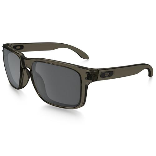 Oakley Holbrook Sunglasses (Grey Smoke Frames, Black Iridium Lenses)