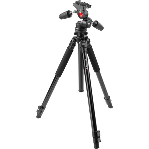 Oben AC-1351 3-Section Aluminum Tripod with PD-117 Pan/Tilt Head
