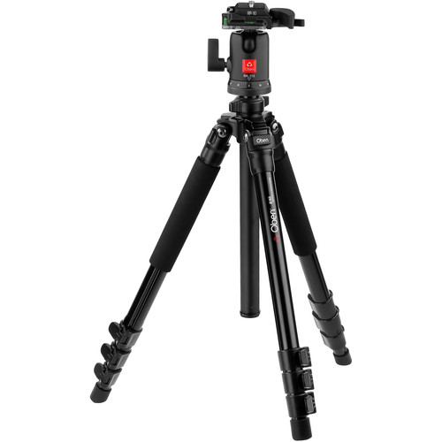 Oben AC-1451 4-Section Aluminum Tripod with BA-113 Ball Head