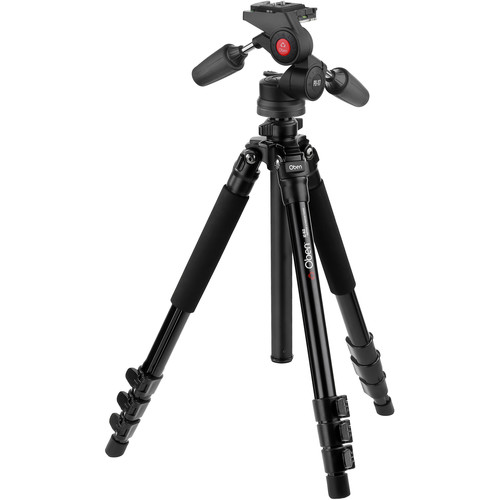 Oben AC-1451 4-Section Aluminum Tripod with PD-117 Pan/Tilt Head