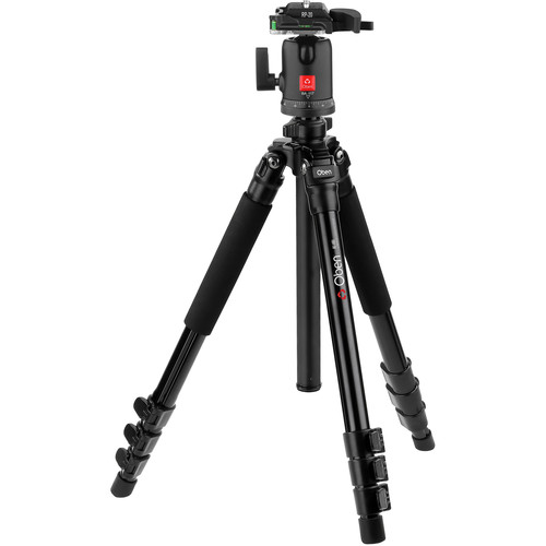 Oben AC-1461 4-Section Aluminum Tripod with BA-117 Ball Head