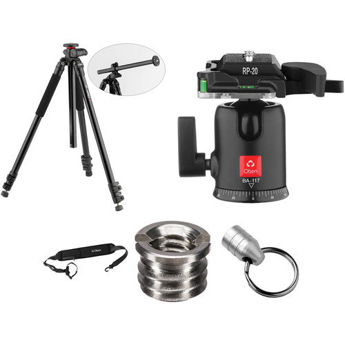 Oben AC-2361L Tripod with BA-117 Ball Head Kit