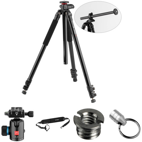 Oben AC-2361L Lateral Tripod with BE-126T Ball Head Kit