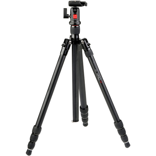Oben AT-3421 Aluminum Travel Tripod with BA-106T Ball Head