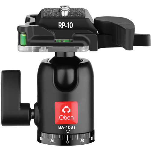 Oben BA-108T Single Lever Travel Ball Head