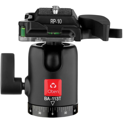 Oben BA-113T Single Lever Travel Ball Head