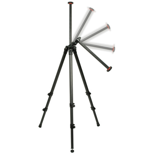 Oben CC-2320LA 3-Section Carbon Fiber Lateral Tripod Legs