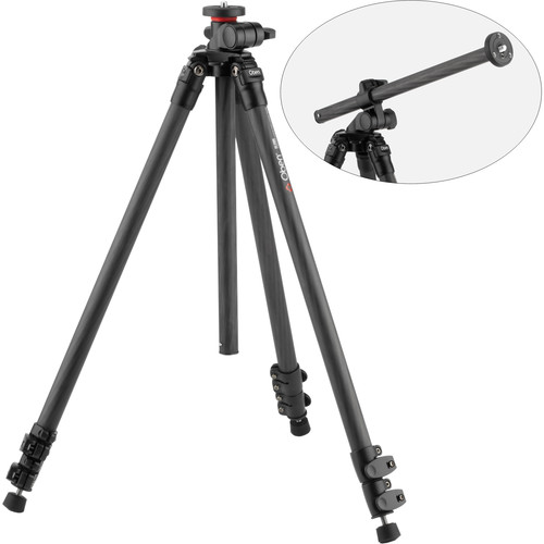 Oben CC-2361L Carbon Fiber Lateral Tripod with BE-117 Ball Head Kit