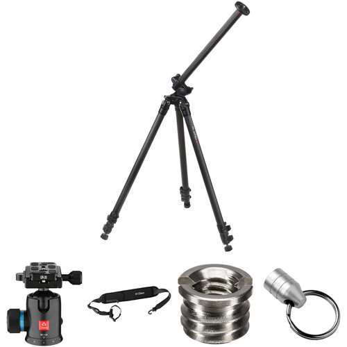 Oben CC-2381L Carbon Fiber Tripod with BC-126 Ball Head Kit