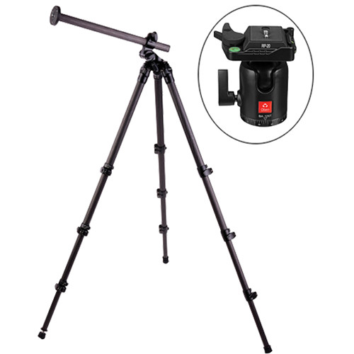 Oben CC-2461L Carbon Fiber Lateral Tripod with BA-126T Ball Head