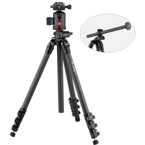 Oben CC-2481L Carbon Fiber Tripod with BC-139 Ball Head Kit